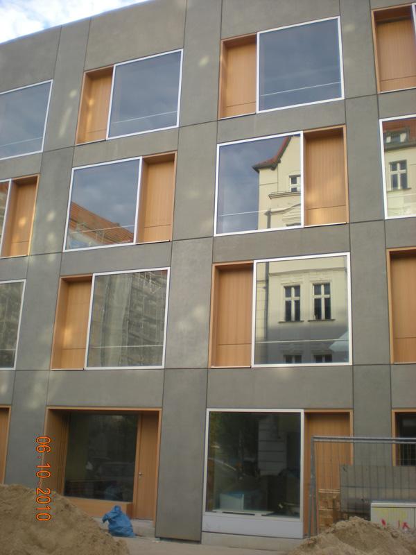 Fassadenplatten Holz neubau